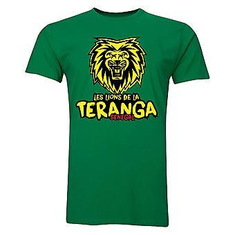 Senegal Les Lions De La Teranga T-Shirt (grün)