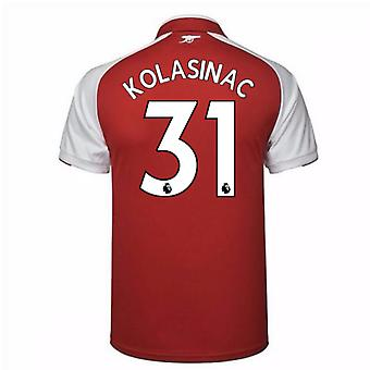 2017-18 Arsenal Home Shirt (Kolasinac 31)