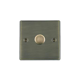Hamilton Litestat Hartland Antique Brass Dimmer Switch, 1G 2W 400W