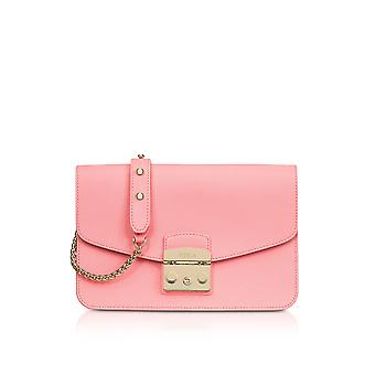 FURLA ladies 920375 pink LEDER shoulder bag