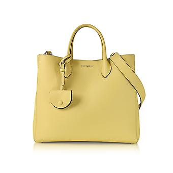 Coccinelle women's E1BP1180101043 yellow leather handbags