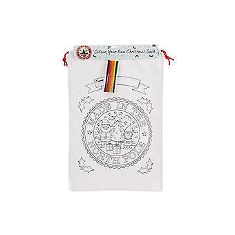 CGB Giftware Christmas Colour In Made In The North Pole Sack