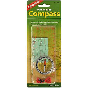 Coghlan's Deluxe Map Compass with Lanyard