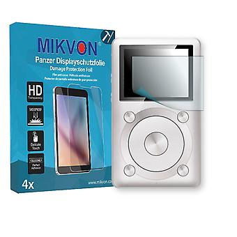 FiiO X1 Screen Protector - Mikvon Armor Screen Protector (Retail Package with accessories)