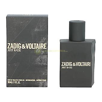 Zadig & Voltaire Just Rock! For Him Eau De Toilette Spray 30ml
