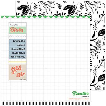 A Case Of The Blahs Double-Sided Cardstock 12