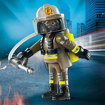 Playmobil Playmo-vrienden figuur brandweerman