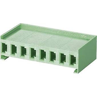 Socket enclosure - cable AMPMODU MOD I Total number of pins 4 TE Connectivity 280591 Contact spacing: 3.96 mm 1 pc(s)