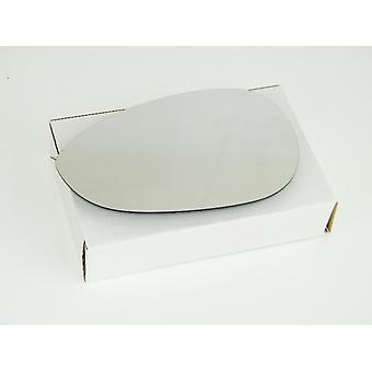 Left Mirror Glass (heated) & Holder for FIAT 500 2007-2017