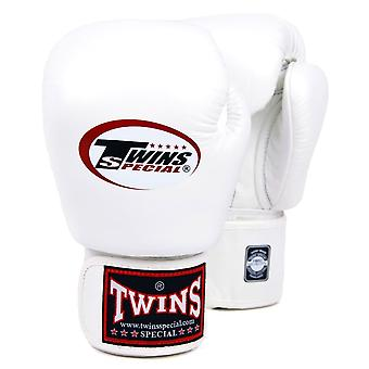 Twins Special White Boxing Gloves