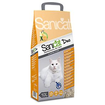 Sanicat 10 L agglomerant (Cats , Grooming & Wellbeing , Cat Litter)