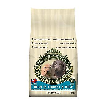 Harrington's Puppy Food Dry Mix Complete Rich In Turkey and Rice 2 Kg