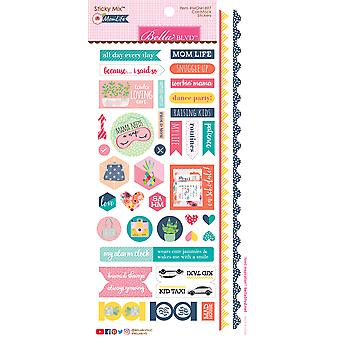 Mom Life Cardstock Stickers 6