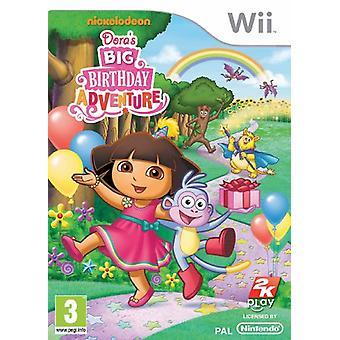Doras stora födelsedag äventyr (Wii)