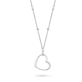 Orphelia Silver 925  Necklace Heart  ZK-7183