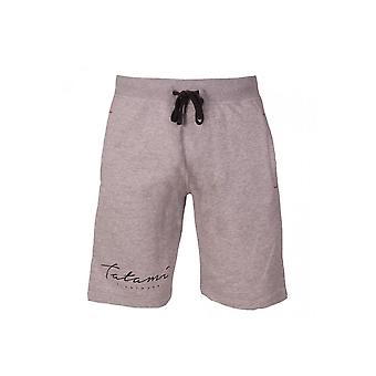 Tatami Script Tracksuit Sweat Shorts - Grey