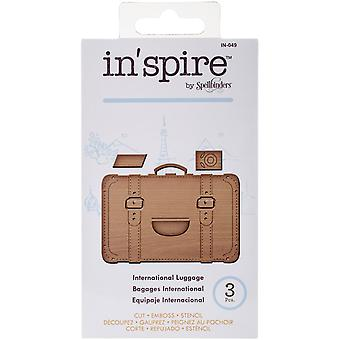 Spellbinders Shapeabilities In'spire Die-International Luggage