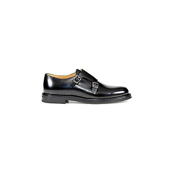 CHURCH'S LORA R BLACK LACE UP