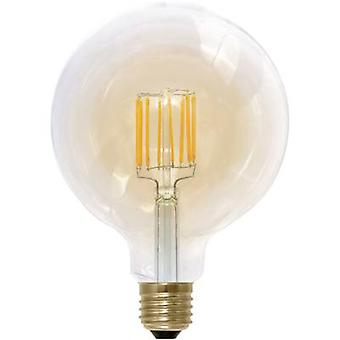 Segula LED EEC A (A++ - E) E27 Globe 8 W = 35 W Gold (Ø x L) 125 mm x 180 mm dimmable, Filament 1 pc(s)
