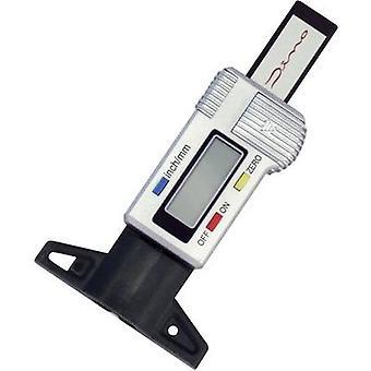 Banda de rodamiento medidor de 25,4 mm (max) rango de lectura Digital de la profundidad DINO