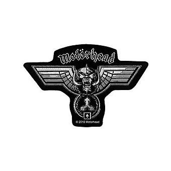 Motorhead geformt zum Aufbügeln / Nähen-auf Stoff Patch