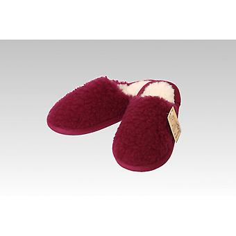 Slipper wool bordeaux 44/45