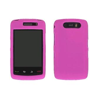 Wireless Solutions Silicone Gel Case for BlackBerry Storm2 9520, Watermelon