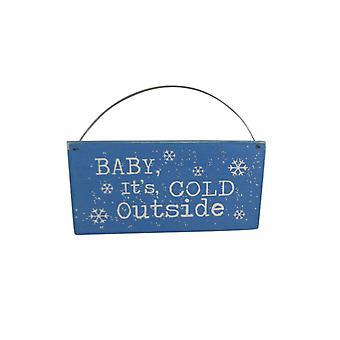 Baby Its Cold Outside Shoeless Joe Plaque