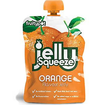 Fruitypot Orange Jelly Squeeze
