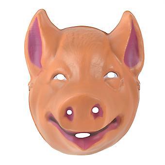 Свинья пластиковая маска