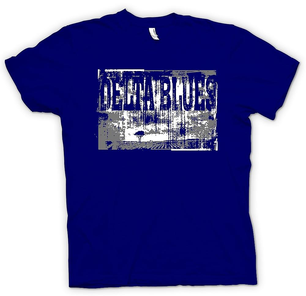 Mens t-shirt - Delta Blues Guitar - Rock Music