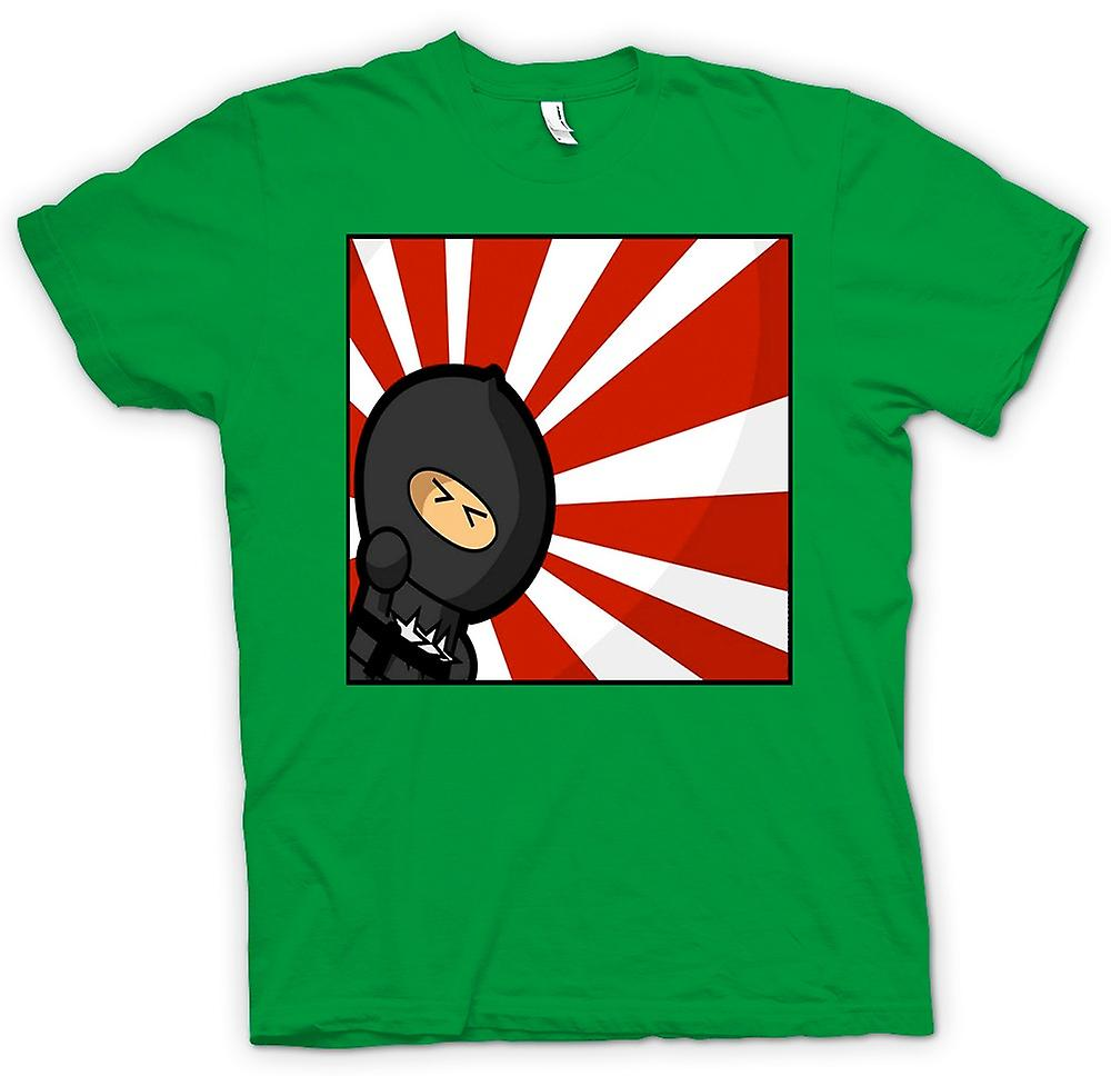 Mens T-shirt - Ninja - Pop Art - Funny