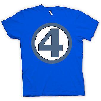 Mens T-shirt - Fantastic 4 Logo - Superhero