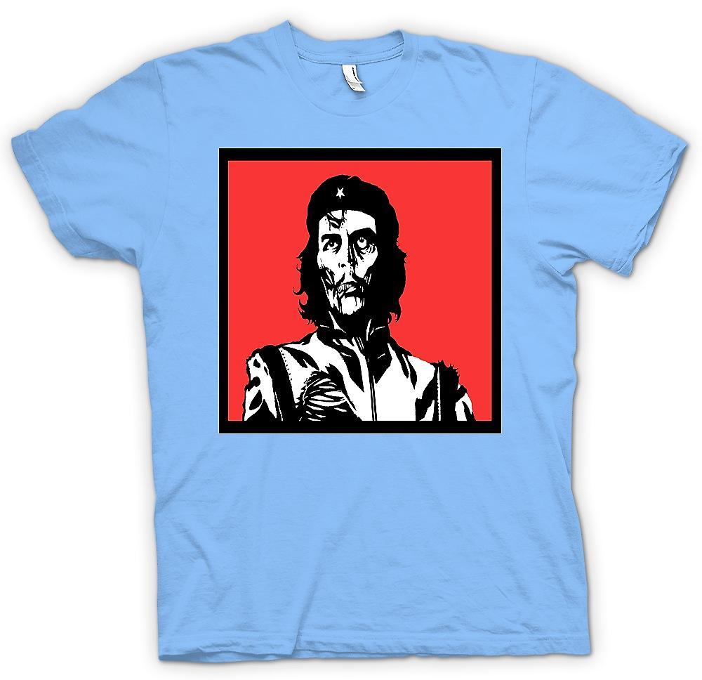 Mens t-skjorte-Che Guevara Zombie