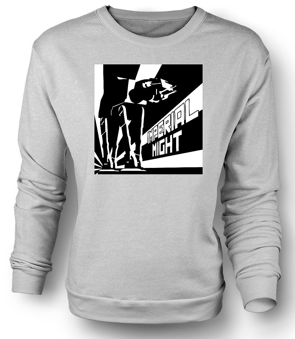 Mens Sweatshirt Star Wars - AT-AT Imperial Might