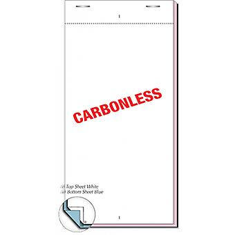 Restaurant Pads / Waiter Order Pads - 2 Ply Multicoloured - 50 Sheets per Pad - 100 Pads per Box