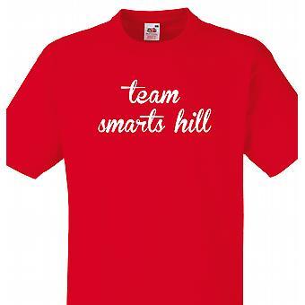 Team Smarts hill rød T shirt