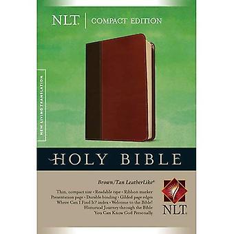 NLT Compact Edition, TuTone, Brown/Tan