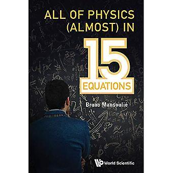 Tutte 15 equazioni (quasi) In fisica