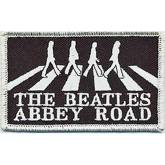 Beatles Abbey Road sew on cloth patch (crossing b&w) (ro)
