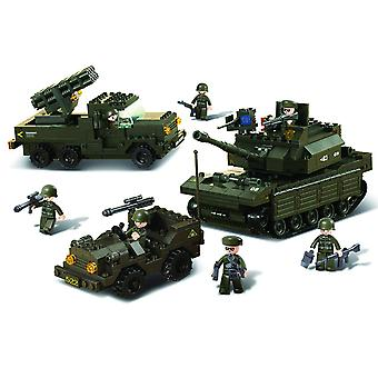Kombat Military Bricks Land Forces