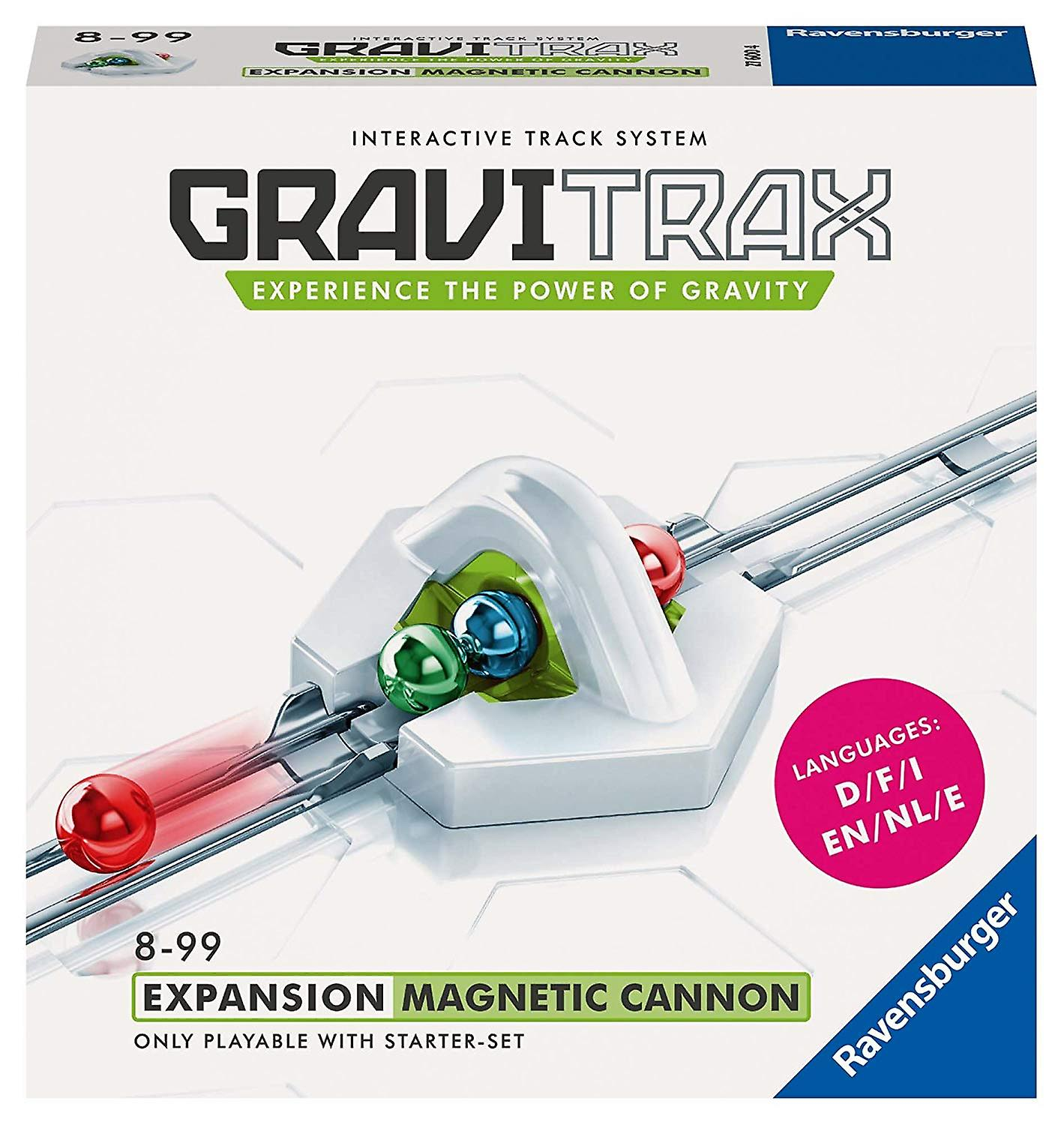Ravensburger GraviTrax Add on Magnetic Cannon English Version
