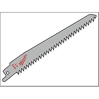 Milwaukee SAWZALL® Sabre Blade Wood/Plastic 150mm 6 tpi (3)