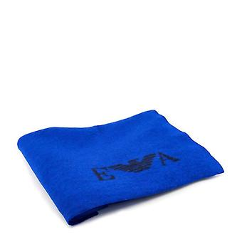 Emporio Armani Men Blue Scarves -- 6252842544
