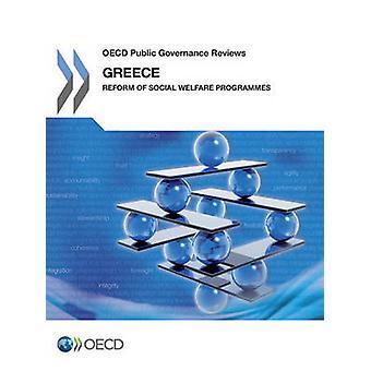 Governança pública da OCDE clientes Grécia reforma dos programas de bem-estar Social pela OCDE