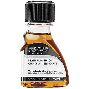Winsor & Newton Drying Linseed Oil for Oil Painting 75ml