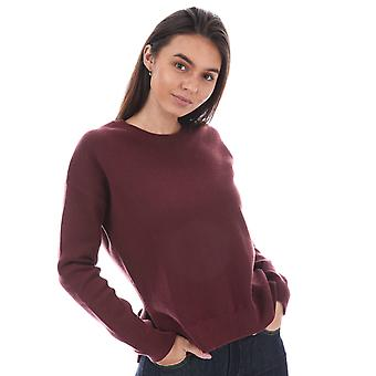 Womens Levi's Sporty Sweater In Merlot