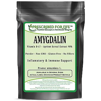 Amygdalin - Vitamin B-17 Powder - Apricot Kernal Extract 98% (Prunus armeniaca L.)