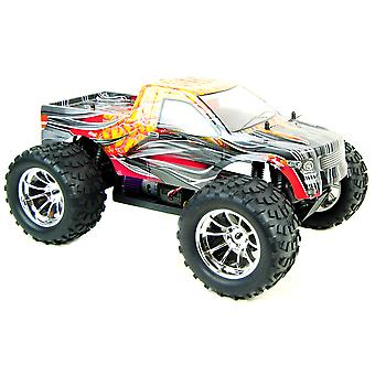 Bug Crusher Electric RC Monster Truck RTR - Orange Flame