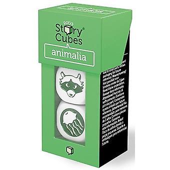 Historia de Rory cubos mezcla dados de Animalia